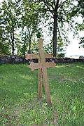 Cemetary 2 iron crosses