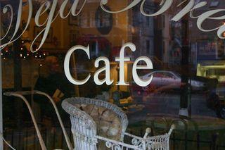 Deja Brew Cafe up close
